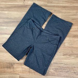 Athleta Bettona Classic pants, gray, sz L tall